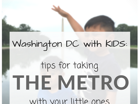 DC with Kids: the metro