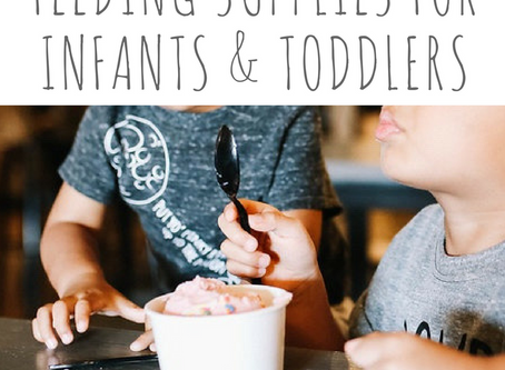 six best feeding supplies for infants and toddlers