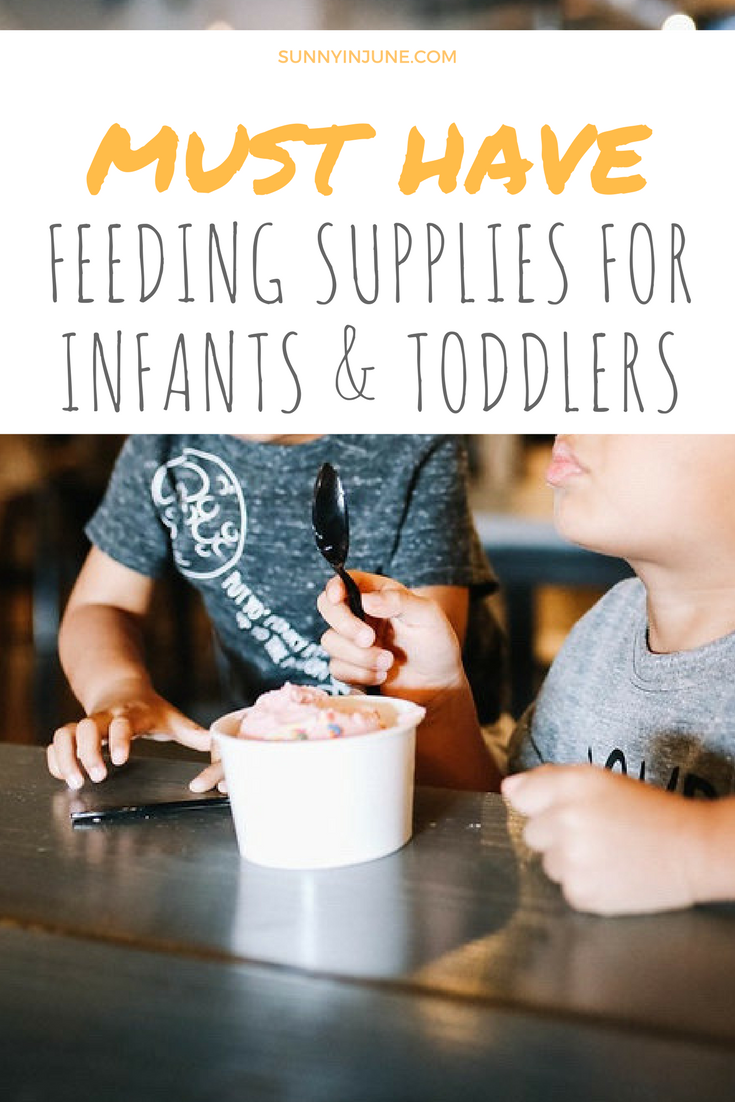 best feeding supplies for baby and toddlers // sunnyinjune.com