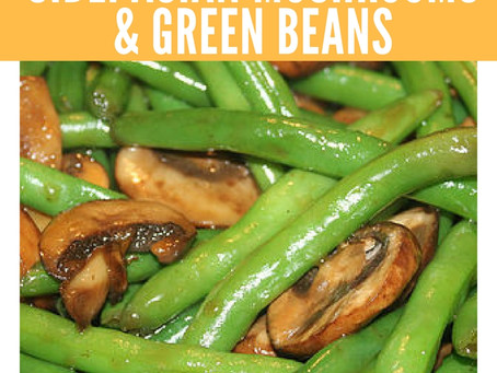 Quick Side - Asian Mushrooms and Green Beans