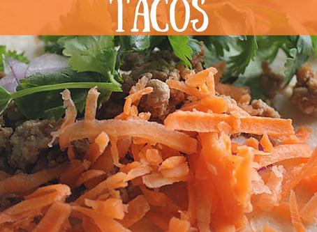 Entree: Asian Turkey Tacos
