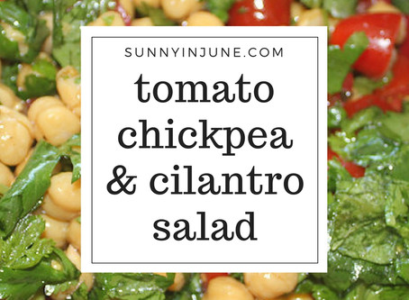 Side: Chickpea and Tomato Salad