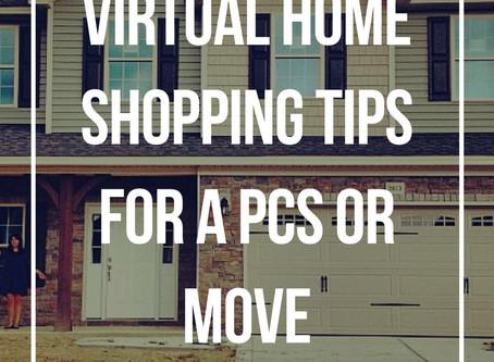 Virtual Home Shopping Tips