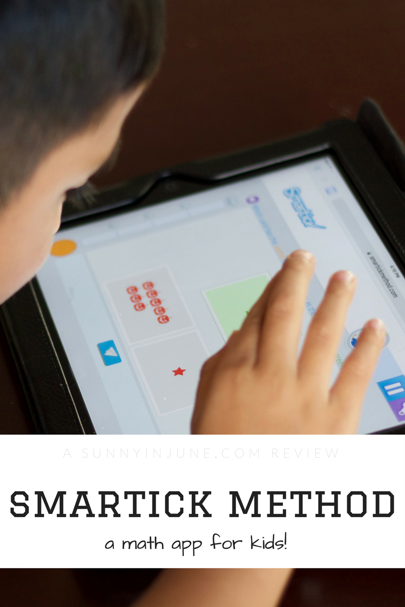 reviewing the smartick method app for my 5 year old // sunnyinjune.com