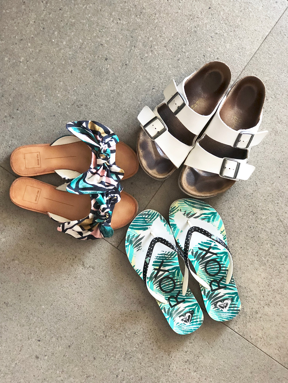 shoes to pack for the long weekend beach getaway // sunnyinjune.com