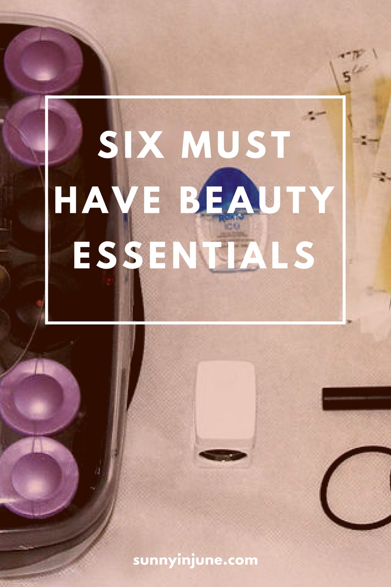 hot rollers, eye drops, wax strips,and jelly hair ties - 6 beauty essentials that you need to pick up!