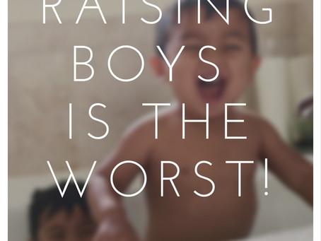 i hate raising boys