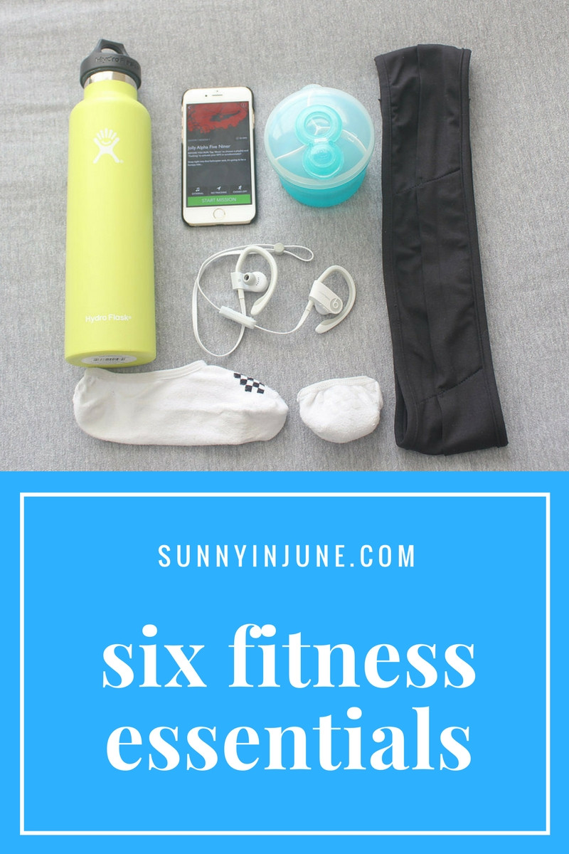 six fitness essentials you NEED to try!