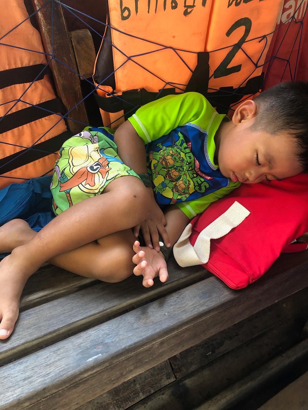 krabi island and ao nang beach with kids - island hopping // sunnyinjune.com