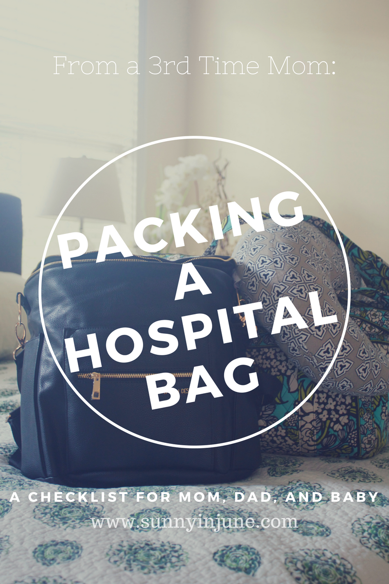 a comprehensive checklist for what to bring to the hospital