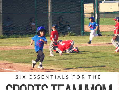 Six Essentials for the Sport Team Mom