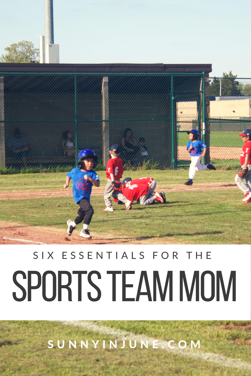 six essentials for the sports team mom