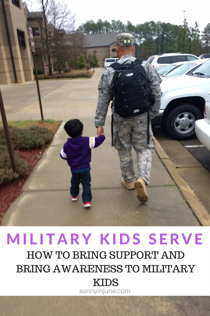 Military Kids Serve, Too! How to bring compassion and awareness to military kids, even as a civilian.