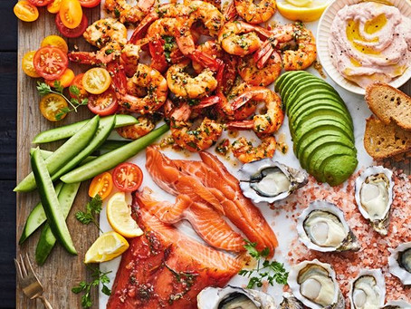 Holiday Seafood Platters