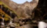 delika arroila bisitatzeko ibilbidea, nerbioi ur-jauzia