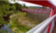 Amurrio eta Laudio arteko parke lineala bizikletaz edo oinez egiteko.