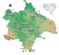 aiaraldeko mapa