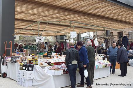 ¿Qué día y dónde es el mercado de Amurrio?
