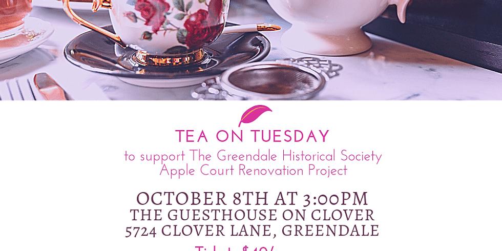 Tea on Tuesday - October 8, 2019