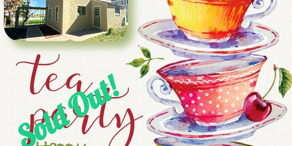 SOLD OUT! - Tea on Tuesday - August