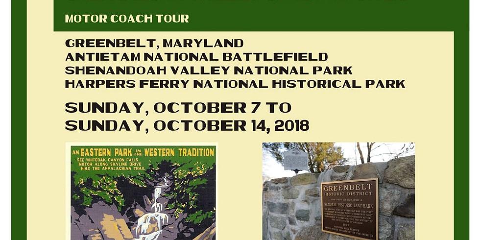 Greenbelt Express: Deluxe Motor Coach Tour