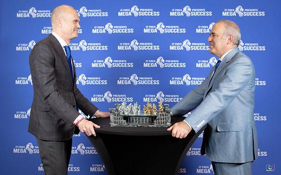 Phil Jepson and Garry Kasparov