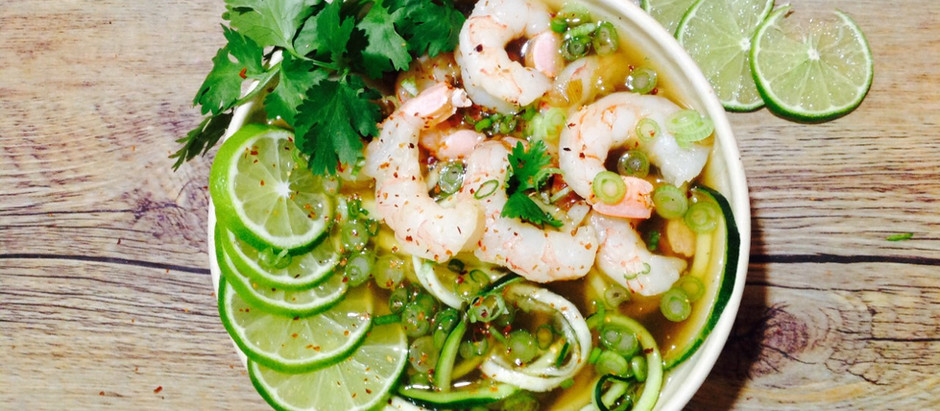 Shrimp Pho Soup
