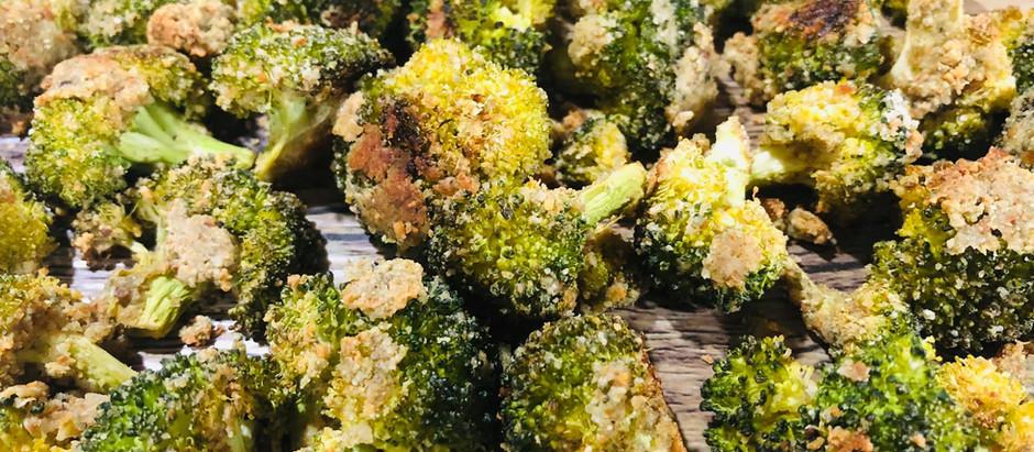 Roasted Broccoli with Garlic & Lemon