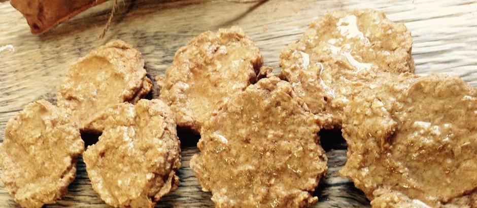 Oatmeal Pumpkin Spice Naked Drop Cookies