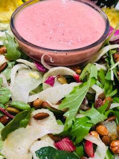 Rhubarb & Fennel Salad