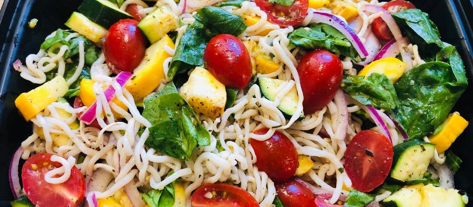 Mediterranean Konjac Salad
