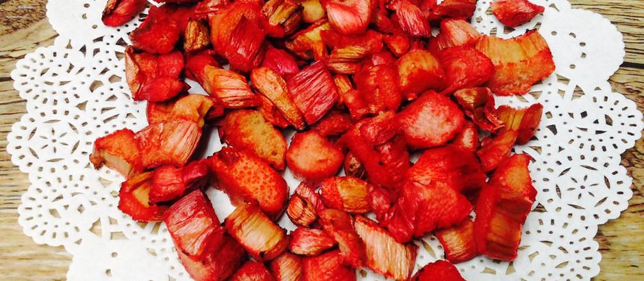 Air Fried Rhubarb