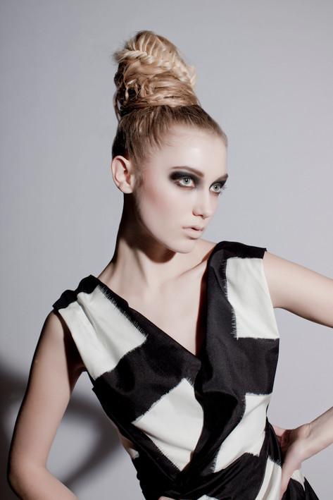 Haus Salon Hair: Brittany Kinney Makeup: Heath Bryant Photography: Rau+Barber