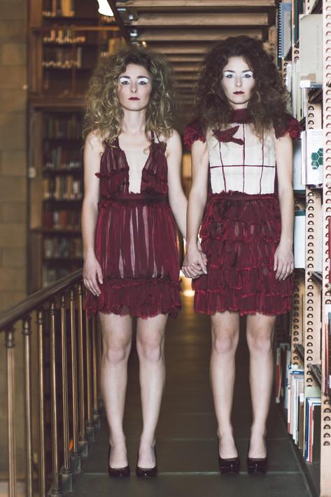 Hair: Brittany Kinney & Julie Swenson Makeup: Rachel Feges and Priscille Bruce Photographer: Chris McDuffie