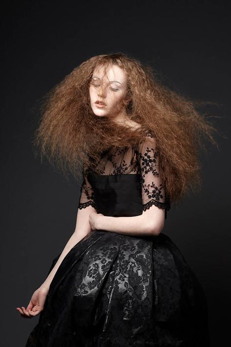 Spectré Collection Haus Salon Hair: Brittany Kinney Makeup: Heath Bryant Photography: Rau+Barber