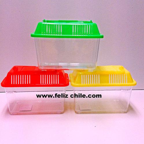 Caja plastica para hamster