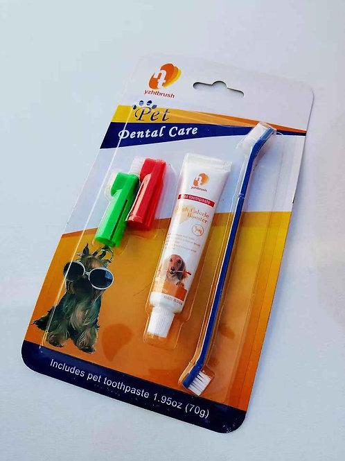 Set pasta dental mascota