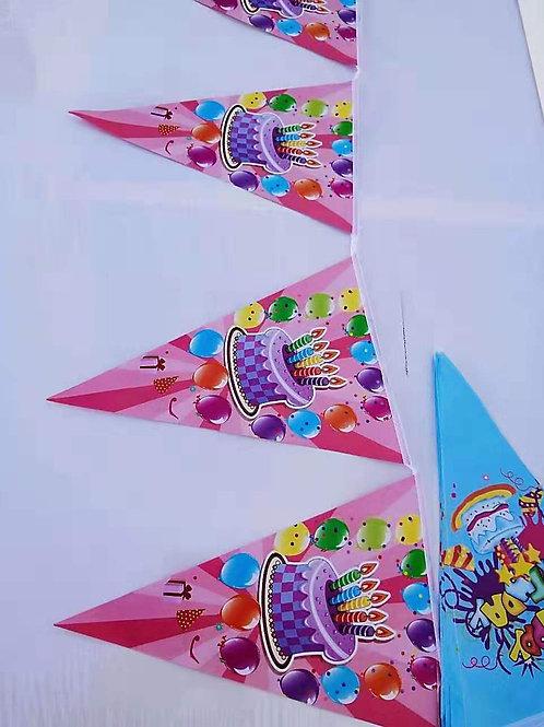 Banderines fiesta