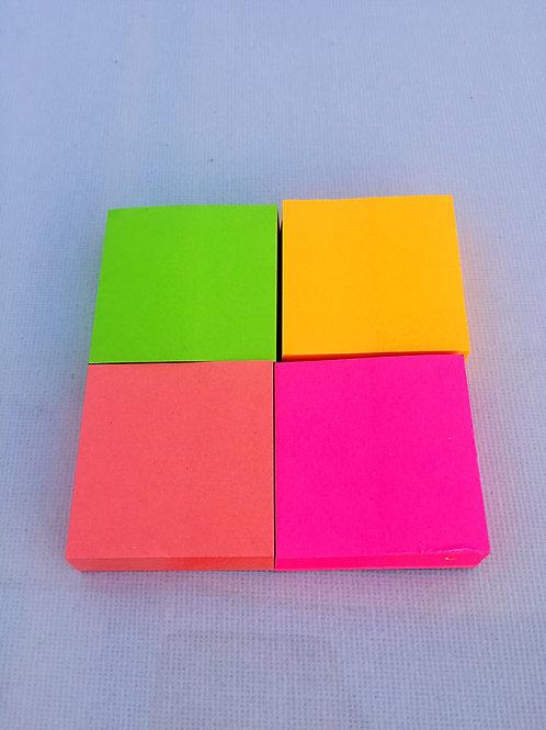 Notas de colores