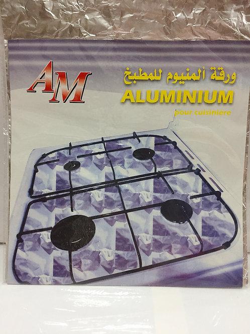 Papel aluminio cocina
