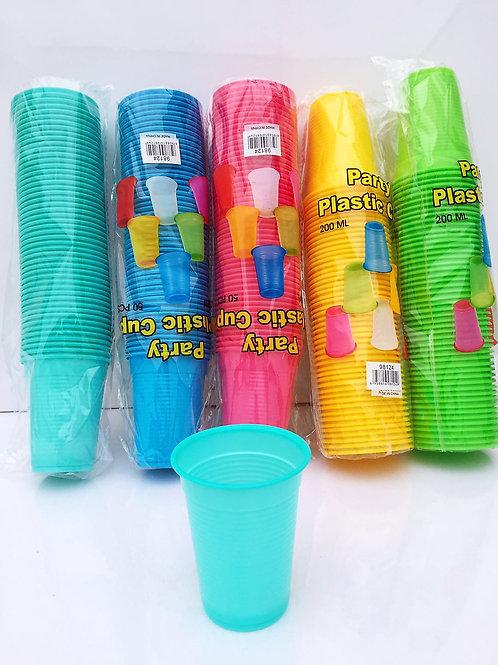 Vaso plastica x50