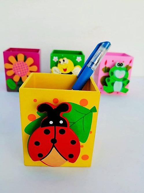 Porta lapiz diseño infantil