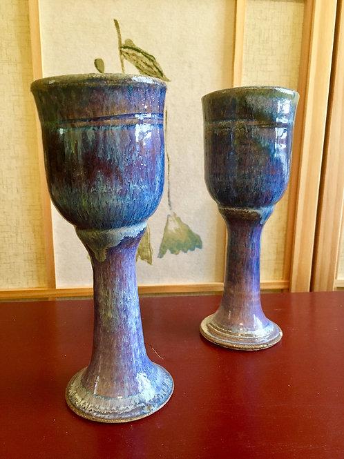 Handmade Ceramic Glazed Chalices