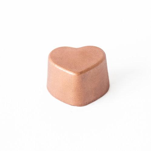 Coração Nutella Crocante - 10 unidades