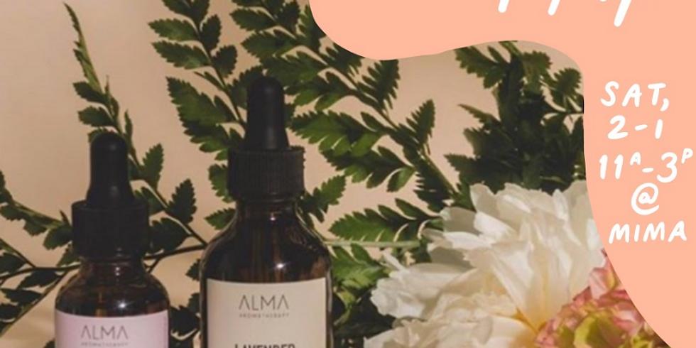Alma Aromatherapy Valentine's Pop Up