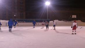 Хоккей в провинции.