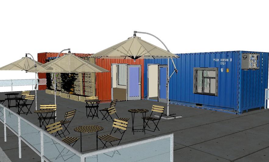 Proposed Upper Level Health Cafe