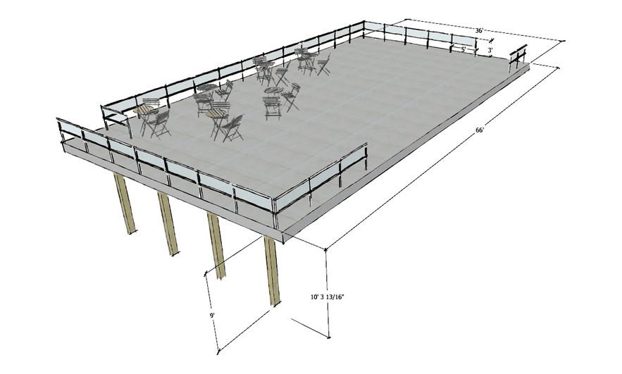Upper Deck Rendering