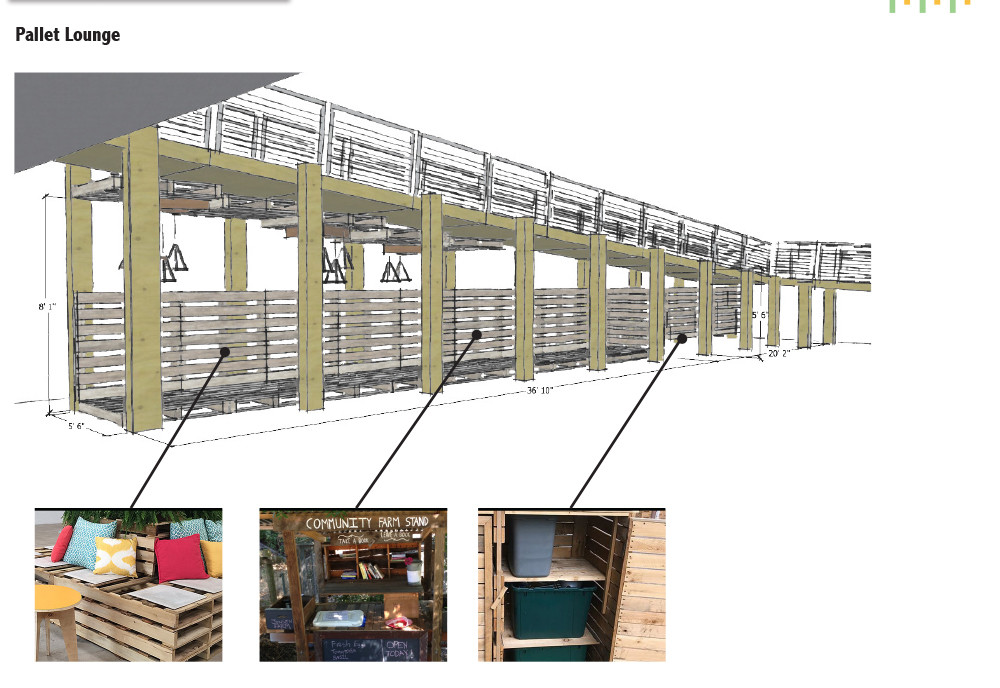 Pallet Lounge/Vendor Booths