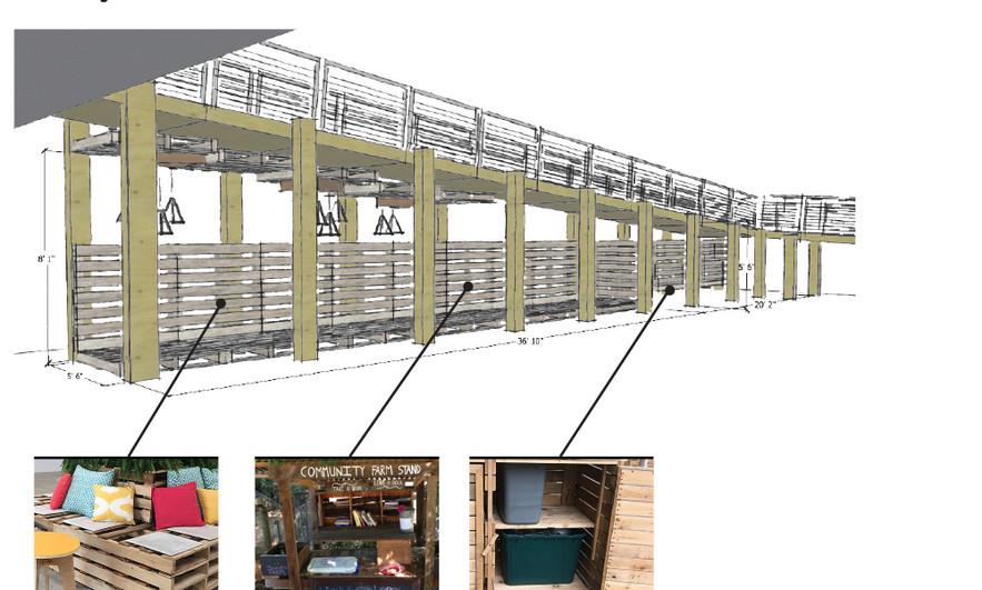 Pallet Lounge/Vendor Booths